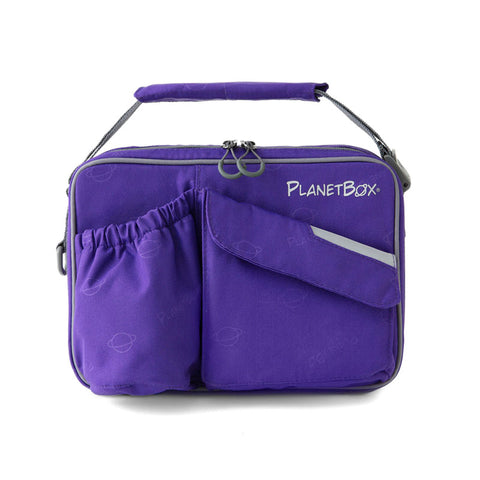 PlanetBox Insulated Carry Bag for Rover or Launch: Power Purple