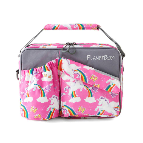 PlanetBox Insulated Carry Bag for Rover or Launch: Rainbows