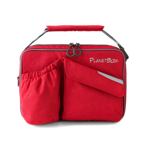 PlanetBox Insulated Carry Bag for Rover or Launch: Rocket Red