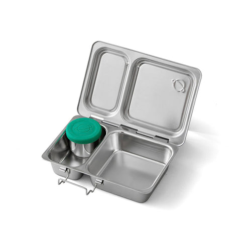 PlanetBox Stainless Steel Bento Box: Shuttle