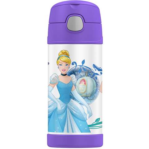 Thermos 12oz FUNtainer Straw Bottle: Princess