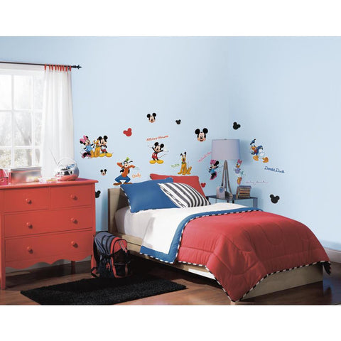 RoomMates Mickey & Friends Peel & Stick Wall/Bento Decals