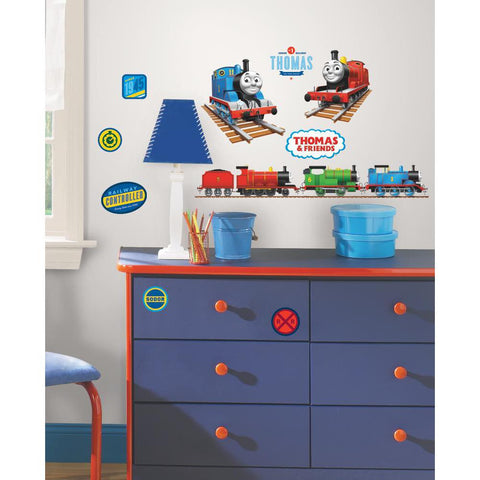 RoomMates Thomas the Tank Engine Peel & Stick Wall/Bento Decals