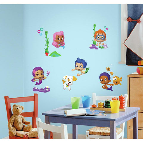 RoomMates Bubble Guppies Peel & Stick Wall/Bento Decals