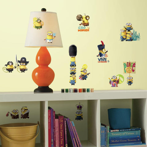 RoomMates Minions Movie Peel & Stick Wall/Bento Decals