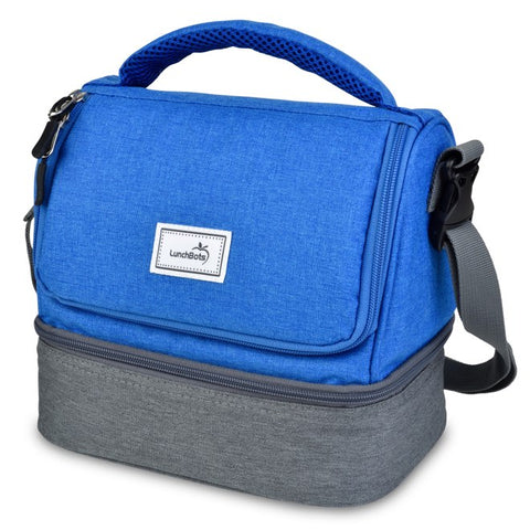 LunchBots Duplex Bag: Royal