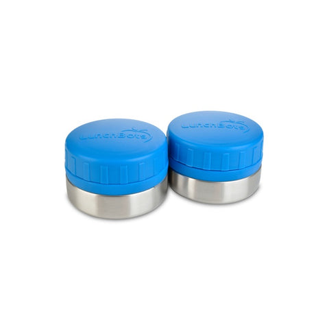 Lunchbots Rounds 4oz (2-Pack): Royal Blue