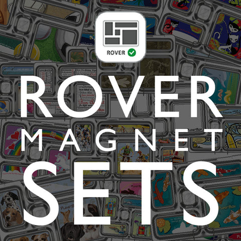 Magnet Set for PlanetBox Rover: Assorted Designs Available