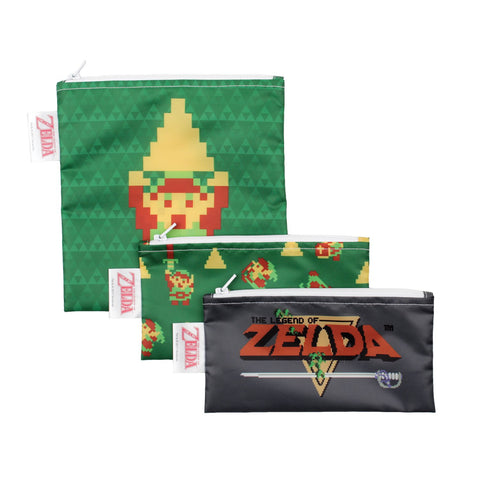 Bumkins Reusable Snack Bags (3 pack): Zelda