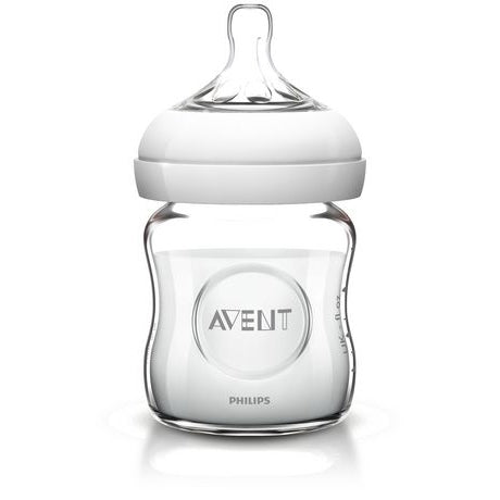 Philips Avent Natural Bottle (Single): 4oz Glass
