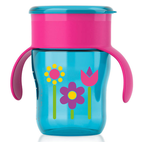 Philips Avent My First Big Kid Cup: 9oz Single (Girl)