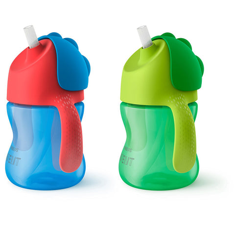 Philips Avent My Bendy Straw Cup: 7oz 2-Pack (Boy)