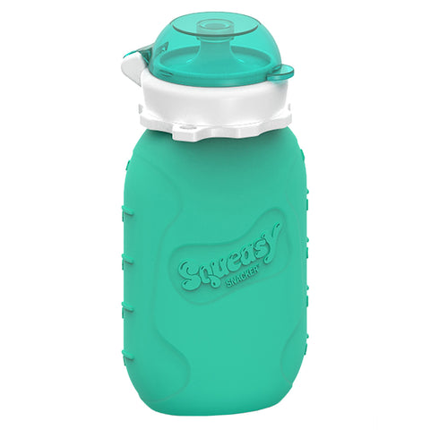 Squeasy Gear 6oz Snacker - Aqua Blue