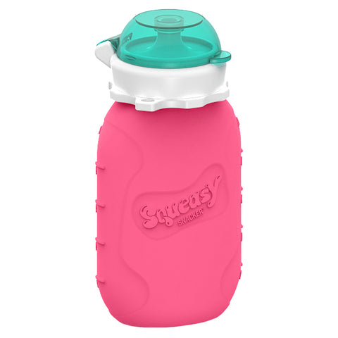 Squeasy Gear 6oz Snacker - Pink