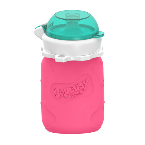 Squeasy Gear 3.5oz Snacker - Pink