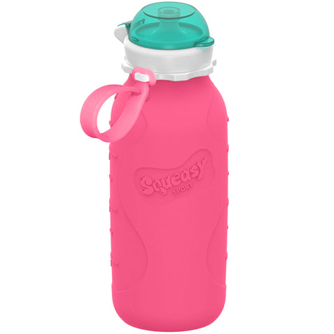 Squeasy Gear 16oz Sport Bottle - Pink