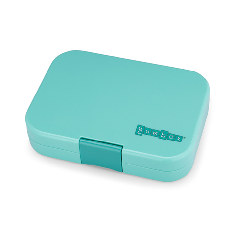 Yumbox Outer Box Only: Surf Green Original (6 Compartments)