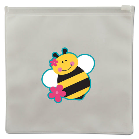 Stephen Joseph Reusable BEE Snack Bags (Set of 2)
