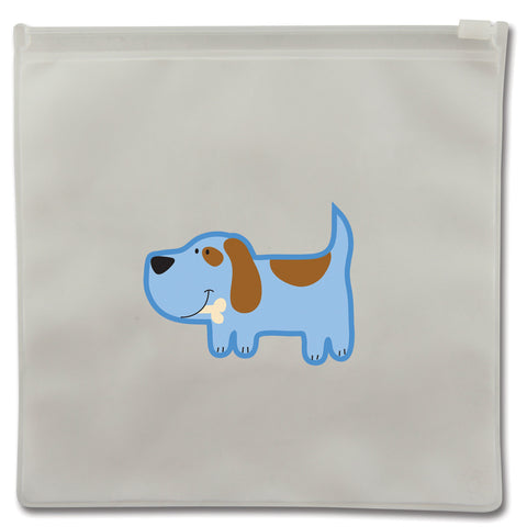 Stephen Joseph Reusable DOG Snack Bags (Set of 2)
