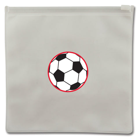 Stephen Joseph Reusable SOCCER BALL Snack Bags (Set of 2)