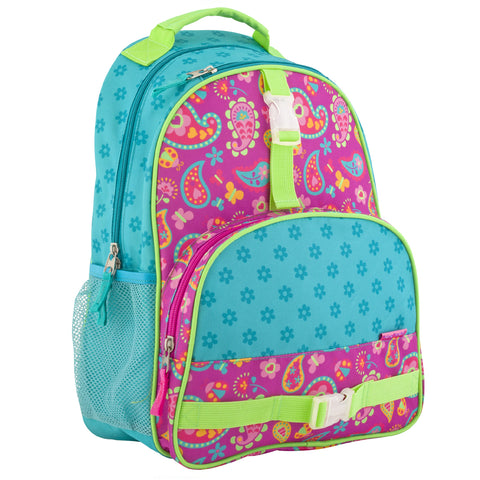 Stephen Joseph All Over Print Paisley Garden Backpack