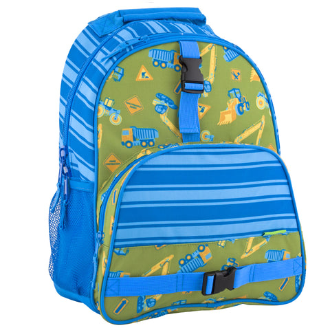 Stephen Joseph All Over Print Construction Backpack