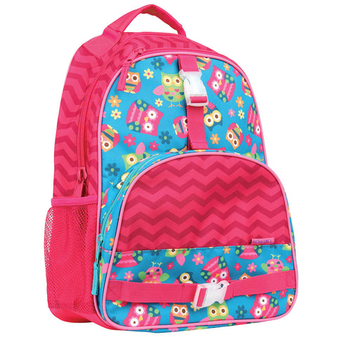 Stephen Joseph All Over Print Owl Backpack