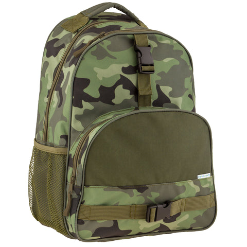 Stephen Joseph All Over Print Camo Backpack