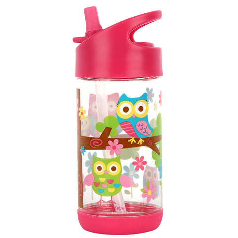 Stephen Joseph OWL Flip Top Bottles