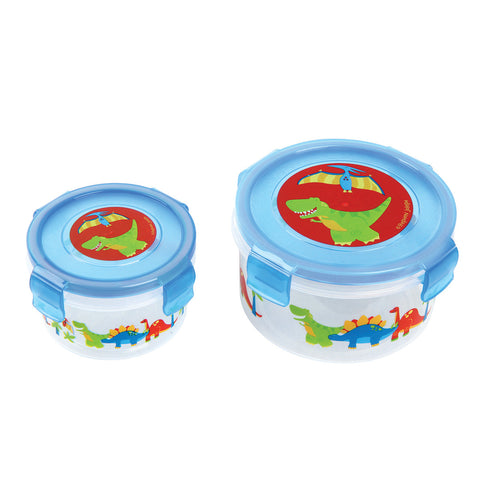 Stephen Joseph DINO Snack Containers (Set of 2)