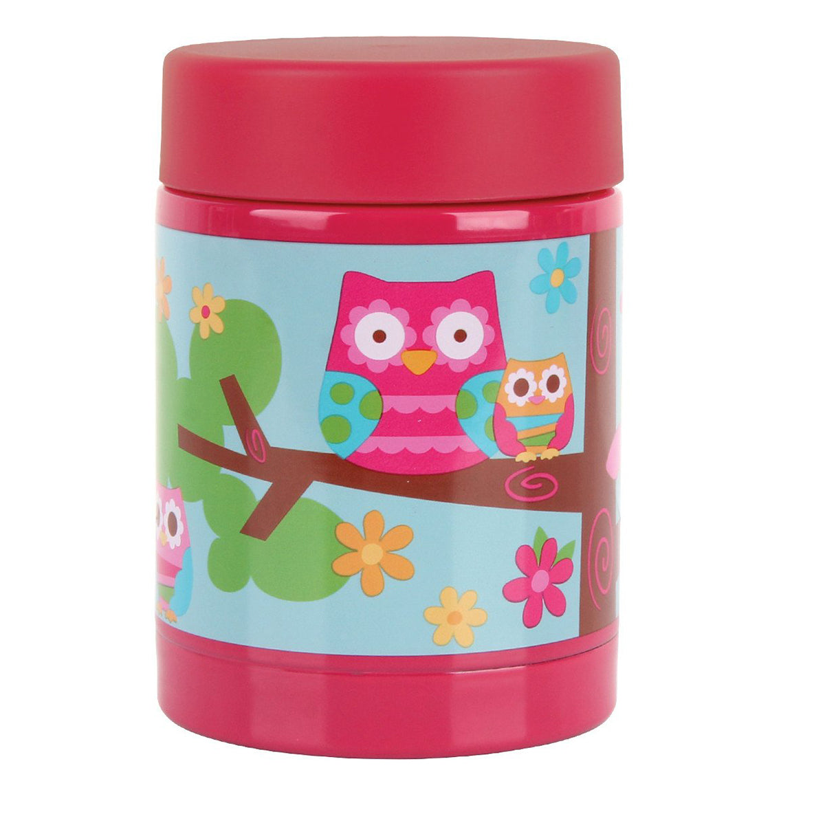 Stephen Joseph Hot And Cold Thermal Container Owl