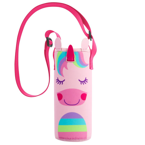 Stephen Joseph Neoprene Bottle Buddy - UNICORN