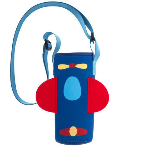 Stephen Joseph Neoprene Bottle Buddy - AIRPLANE
