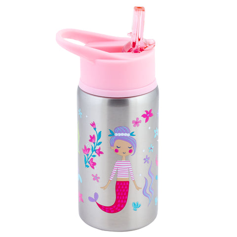 Stephen Joseph Stainless Steel Water Bottle - MERMAID