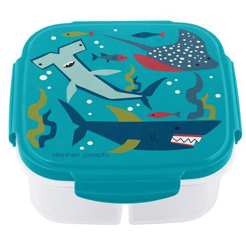 Stephen Joseph Snack Box With Ice Pack: Shark