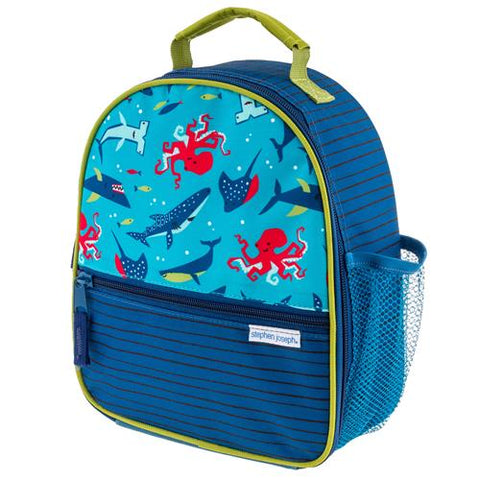 Stephen Joseph All Over Print Shark II Lunch Box