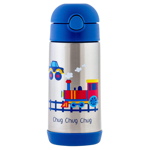 Stephen Joseph Double Wall Stainless Steel Bottle: Transportation