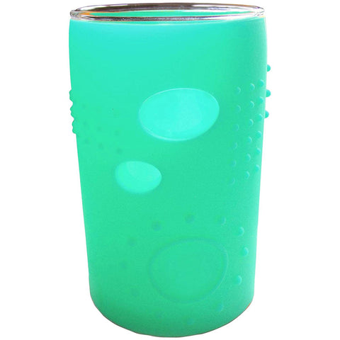 Silikids Siliskin Glass: 6oz Sea Green (2-Pack)