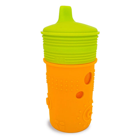 Silikids Siliskin - Sippy Cup 8oz Tart Orange
