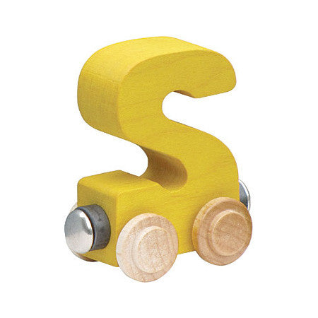 "Maple Landmark Letter ""S"" NameTrain 