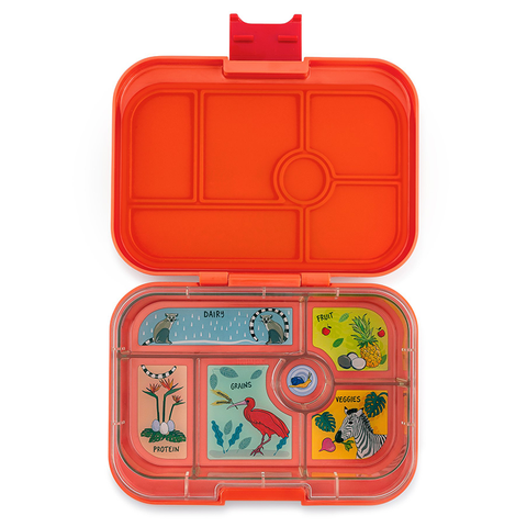 Yumbox: Safari Orange (6 Compartments)