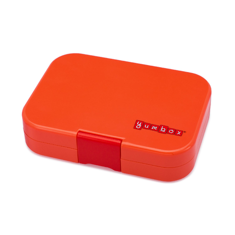 Yumbox Outer Box Only: Safari Orange Panino (4 Compartments)