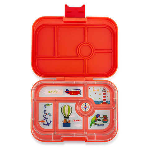 Yumbox: Saffron Orange (6 Compartments)