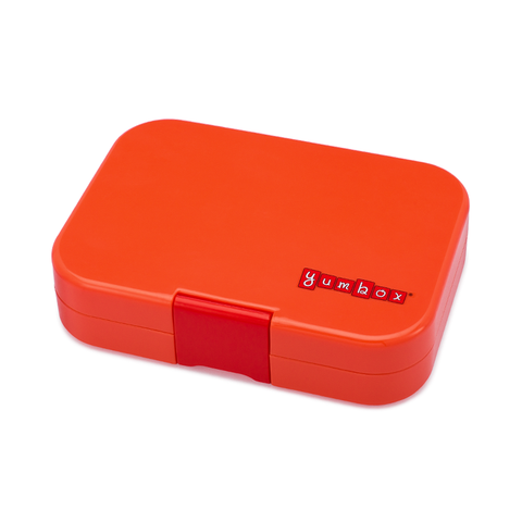 Yumbox Outer Box Only: Saffron Orange Panino (4 Compartments)
