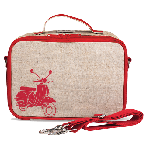 SoYoung Lunch Box: Red Vespa Scooter
