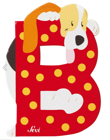 "Sevi Letter ""B"":  Animal 