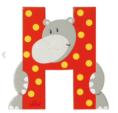 "Sevi Letter ""H"":  Animal 