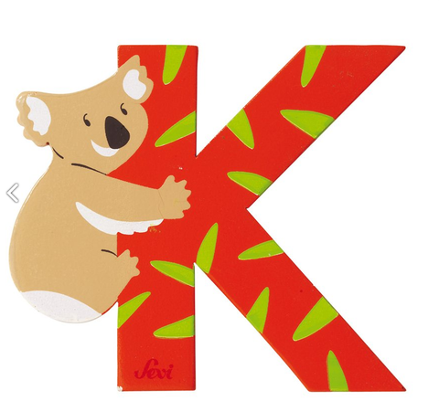 "Sevi Letter ""K"":  Animal 