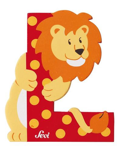 "Sevi Letter ""L"":  Animal 