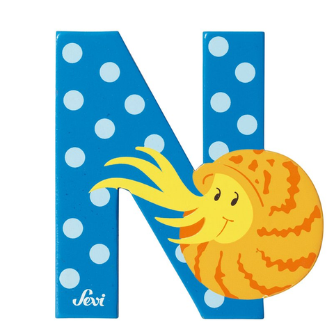"Sevi Letter ""N"":  Animal 